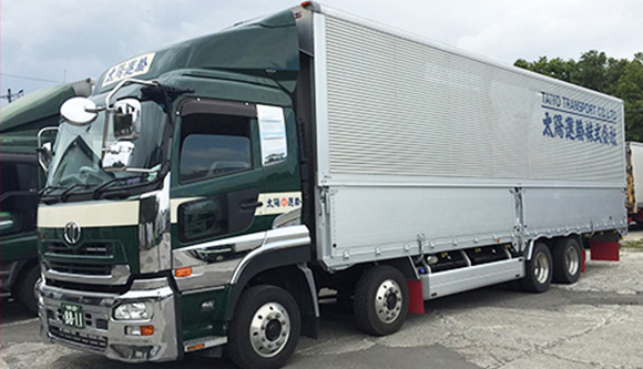 【大型 トラック】配送・トラックドライバー